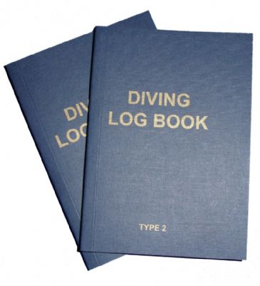 PDC 10 BOOK LOGBOOK DIVING <BR> TYPE 2